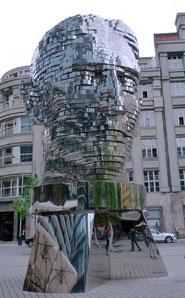 Büste von Franz Kafka in Prag