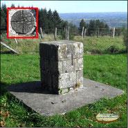 mesure du mètre étalon à Montsalvy (cantal)