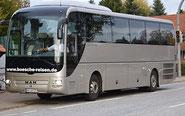 Bösche Reisen Gold-Anthrazit Bus