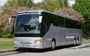 Bösche Reisen Silberner Bus