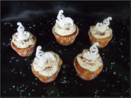 tuto cupcake halloween fantome