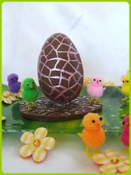 Recette oeuf en chocolat en 3D façon Kinder