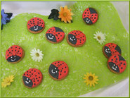 tuto coccinelle biscuit