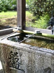 壷井八幡宮の水盤舎