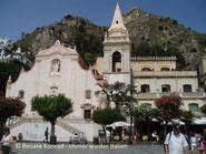 Aussichtsterrasse in Taormina