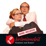 Mord beim Festbankett - Krimi-Dinner-Komödie vom Theater krimimobil Berlin