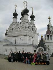 В Свято-Троицком монастыре в Муроме.