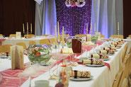 Hochzeitstafel Deko