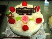 【バースデーケーキ】
