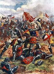 Henry V par Harry Payne.www.britishbattles.com/100-years-war/agincourt.htm.wikimedia.org