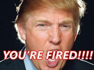 "Donald Trump Saying, ""You're Fired!"""