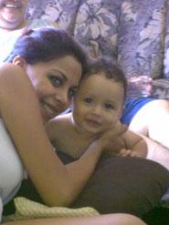 Lolis y su bebe