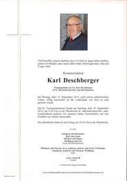 Parte Karl Deschberger