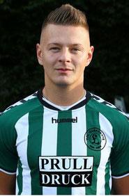 Andre Jädtke mit dem wichtigen 1:0
