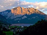 Altausseer See und Trisselberg mit Trisselwand