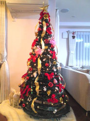 スタジオファンファンのクリスマスツリー