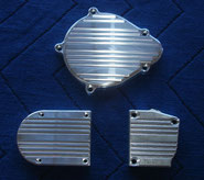 Billet Aluminum Aftermarket Motor Side Covers