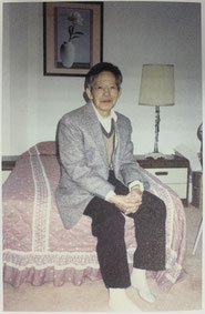 Chang Pao Cun during his final year in the United States of America