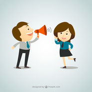 <a href='http://www.freepik.com/free-vector/businessman-shouting-through-megaphone_791783.htm'>Designed by Freepik</a>