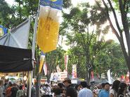 さいたま新都心のビール祭り