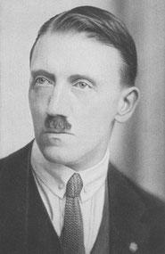 CCO: Adolf Hitler (1923). Nazi Party Passport Picture