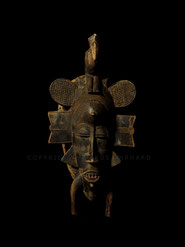 Kpelie mask by Madou Coulibaly, Koulé from Korhogo, Ivory Coast
