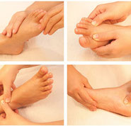 reflexologie, médecine douce par les pieds