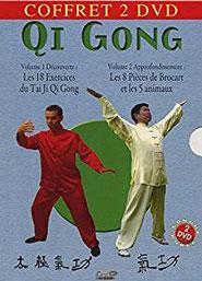 Coffret 2 DVD sur le Qi Gong.