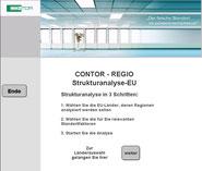 Contor-Regio Software zur Analyse von Standorten