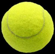 realer Tennisball