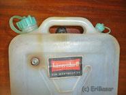 Wasserkanister mit Überdrucksystem
