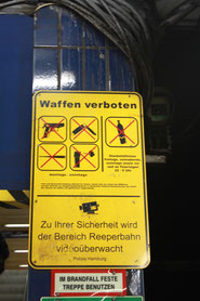 These things are obviously not allowed on Reeperbahn