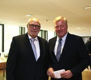 Foto: Siegfried Nickel, Rainer Hajek (links) und Dr. Bernd Althusmann MdL
