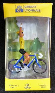 Maillot jaune Crédit Lyonnais Tour de France 2002