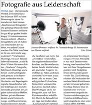 Fotografie aus Leidenschaft, Nordfriesland, Husum, Susanne Dommers, Studio, Fotostudio, Newborn Fotos, Wittbek, Nordfriesland, Presseartikel, Neueröffnung