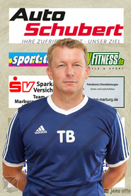 Trainer der 1. Mannschaft Thomas Brunet