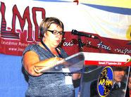 Evelyne Aviotte patient proche grand temoin Conference LMC France Patients experts regards croisés 27 Septembre 2014 TIMONE MARSEILLE LEUCEMIE MYELOIDE CHRONIQUE JOURNEE MONDIALE WORLD CML DAY