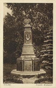 Vilnius. Paminklas Moniuškai. Leid. A. Fialko. Fot. Visockio / Vilnius. Monument to Moniuška. Pub. A.Fialko. Photo. Visockis