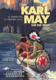 Plakat der Ausstellung in Hannnover