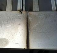 屋根-取合いの部分が劣化