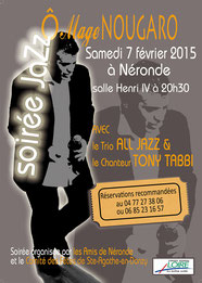 O mage Nougaro Trio All jazz Tony Tabbi