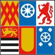 Stadt Mülheim an der Ruhr - offizielles Wappen der Stadt