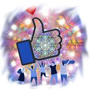 auf Facebook - klicke aufs Logo!