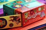 Bild: Stickerrolle als Geschenk aus AnfängerGlück Stoffschultüte