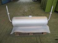 Integral Boiler aus Chromstahl