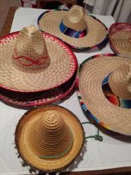 Sombrero (7Stk.am Lager) + 1 Mini-Sombrero, Fr.5.-