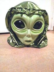ET / Alienmaske, sehr bequem und gute Sicht,Fr.10.-