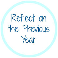 Reflecting on last year will help you come up with goals for yourself in the new year.  - homemade nutrition