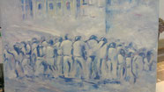 Istanbul I elliottism painting