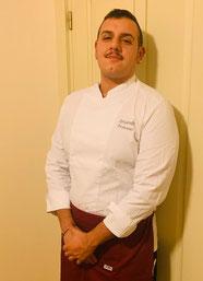 Francesco Spigarelli, Chef De Partie QC Terme Monte Bianco SPA and resort, Courmayeur (AO). Diplomato a.s. 2018/19